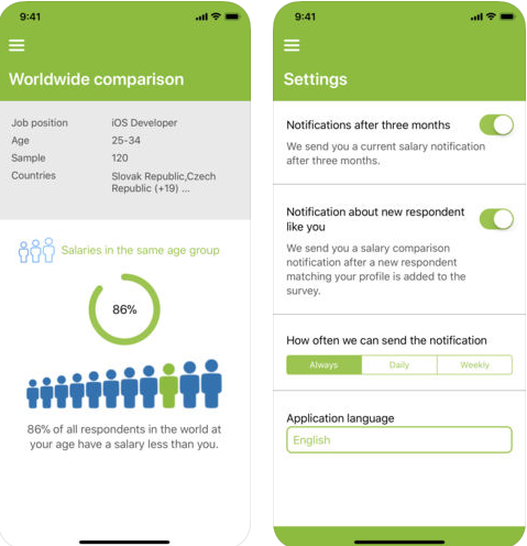 Paylab Salary Checker app iPhone android version
